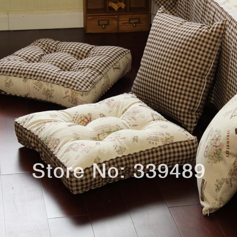 Чехол на диванную подушку своими руками