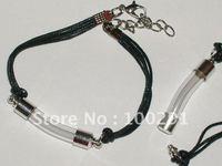 Cylinder Perfume vial oil SCREW CAP Bracelet Bottle