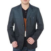 ON Sale promotion 2013 spring and autumn K-BOXING men's clothing fashion suit collar jacket gradient casual thin coat  Cheap HOT