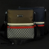 Fashion 2013 vertical waterproof oxford fabric one shoulder cross-body fashion trend of the bag casual bag man001