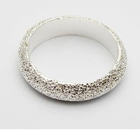 Min.order is $15 (mix order)Free Shipping Female Korean Fashion Jewelry Rings Sweet Circle Frosted Ring  B522