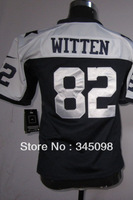 Free Shipping,#82 Jason Witten Blue/White Youth Elite American Football Jerseys Cheap Sale,,Accept mix order