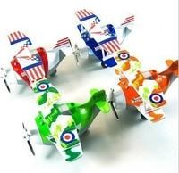 Alloy alloy model glider plain WARRIOR cartoon