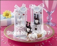 Factory directly sale 8pair/Lot  Wedding Favor Head Over Heels Bottle Stopper wedding gift