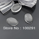 free shipping!!!   DIY jewelry accessories wholesale Round crystal glass patch  18mm*25mm