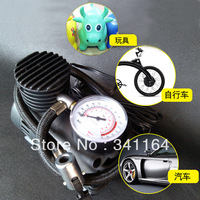 Car air pump car inflatable pumps, air compressors vaporised pump car balloon electric bicycle tyre use, cigarette lighting