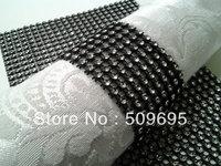 wedding table decoration 8 rows  rhinestone diamond napkin ring LE008BS