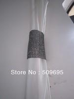 sparking home decoration rhinestone diamond curtain band CB008BS