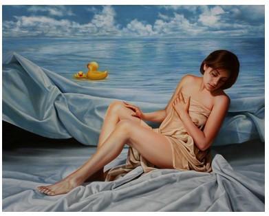 La vida surrealista desnuda