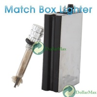 New arrive New Permanent Match Box Striker Lighters w Key Chain wholesale