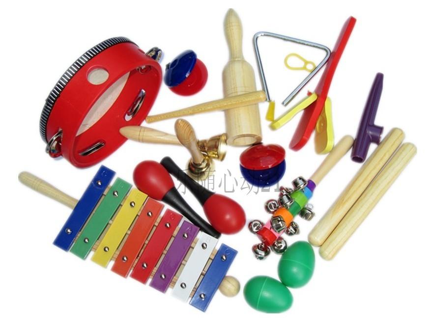 Free-shipping-12pcs-set-Orff-instruments-set-parent-child-combination ...