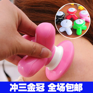 6102 gift usb triangle massage device mini three-legged massage device mini massage device small massage instrument