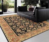 Black pure wool carpet quality home bedroom carpet pad sofa coffee table carpet