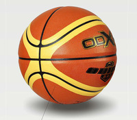 Free shipping hot sales professional match use ball/size 7 PU basketball/wear wll and non-slip