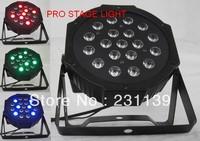 2013 Hot Selling New LED Flat Par SlimPar 19x3W RGB Wash Light With 3/7Channels