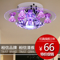 Free shipping Fashion brief led crystal lighting entranceway ceiling light