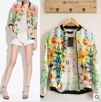 Free shipping Fashion women's fancy stand collar jacket short jacket