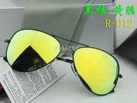 2013 Super Cool Men Women Colorful Sunglasses Driving Aviator Sun Glasses +Box+Cloth Free Shipping