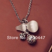 Free shipping vintage fashion gourd shaped female long necklace