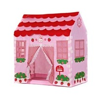 Free Shipping 2013 New Lovely Baby Children Portable Indoor&Outdoor Kids Tent / house/ hut Play Toy