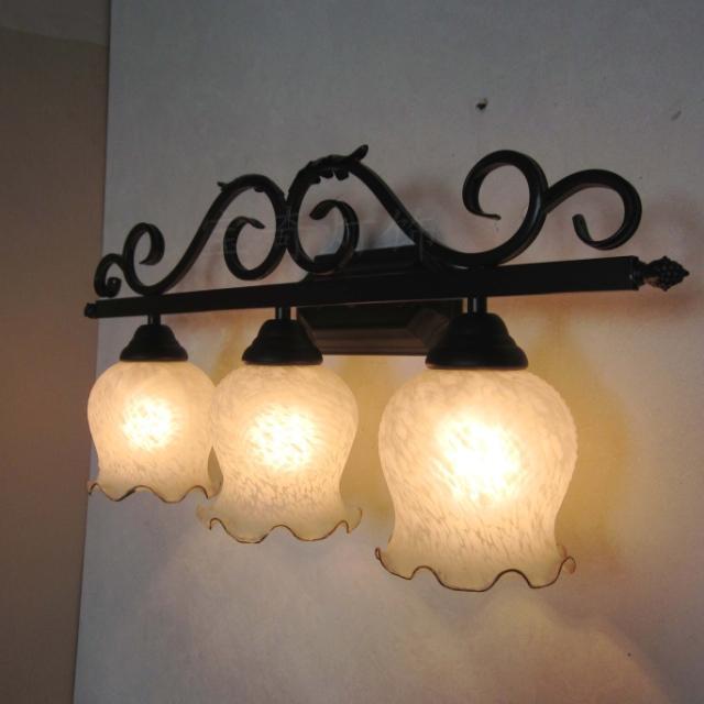 spiegel licht badkamer rustieke spiegelkast lamp mode wandlamp ...