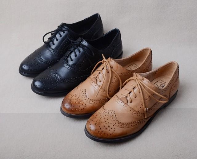 Wholesale Men Dress Oxfords Flats Women Genuine Leather Shoes Size