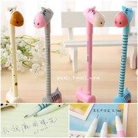 Free shipment Stationery animal style unisex pen ballpoint pen