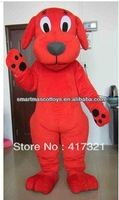 2013 Clifford the Big Red Dog adult costume