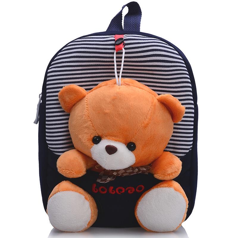 School House Cartoons For Kids Children School Bags Cute Infant Walking Wings Backpacks Cartoon Bear Kid