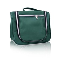 Fashion essential travel capacity multi-function wash bag Cosmetic Bag Green