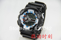 Free shipping,can mix order,digital silicone shining led watch ga 110 watch sport shocked watch GA110 watch