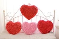 Rose pillow cushion love pillow stuffed toys gift