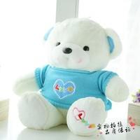 Sweater plush bear stuffed toy doll gift