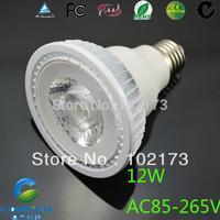 Free Shipping  led COB bulb light  e27 12W led dimmable  wholesale