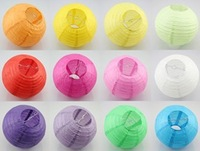 """Free Shipping 100 PCS/LOT  16 """" (40cm) Chinese Round Paper Lantern  Wedding Party decoration Home decoration"""