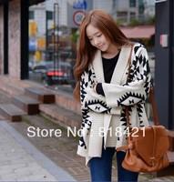 Fashion Women's Cardigan Batwing long sleeve Knitted Knitwear Outerwear Coat