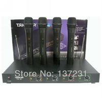 Free shipping Takstar TC-4R 4TC-TD professional VHF wireless microphones High quality reasonable price equal conditions
