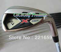 2014 NEW golf Clubs X-HOT golf iron set(4-9P.A.S 9pcs)Graphite Shaft R/S EMS Free shipping
