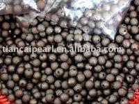 12mm Gunmetal Black Stardust Beads Spacer Beads Jewelry Findings Jewelry Accessories Jewelry Fittings Nickel&Lead Free!!