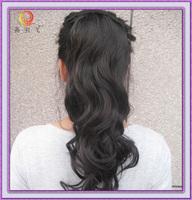 50 100 100% real hair ponytail curly hair jumbo roll horseshoers
