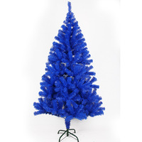150cm blue christmas tree cross hoaxed christmas decoration tree