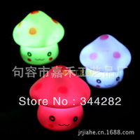 3PCS   Colorful Mushroom Lamp Night Light Night Light Night Light Mushroom villain stall Colorful Night Light