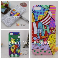 high quality 1 piece / lot art Graffiti LAHOYA  cover case for iphone 5C case luxury 5c case  free shipping