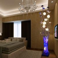 Led floor lamp fashion brief aluminum decoration lamp modern floor lamp