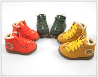 2013 new Kids Children's baby Boys and Girls old thick cotton-padded shoes winter snow boots
