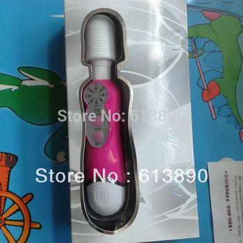 DHL free 10pcs/lot Popular 16 speed vibration 3 heads AV vibrator AV massager AV bar