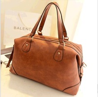 free shipping  2013 new European and American fashion retro big bag Shoulder Messenger