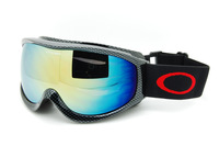 Skiing double layer antimist skiing mirror cover myopia glasses hiking gogglse anti-uv 40