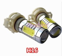 2 x H16 15W high power led fog lamps,  white color led bulb, 360 degree lighting, free shipping