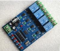 Free shipping, Quad Delay Timer Relay Module 12v DC trigger key signal